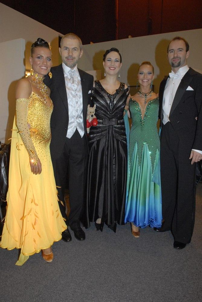 Čtvrtý večer, Společné foto,Simona Švrčková, Marek Eben, Tereza Kostková, Iva Langerová a Aleš Valenta