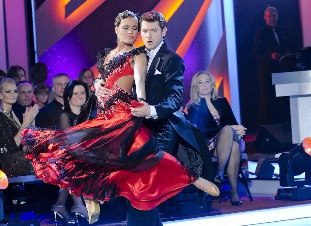 Sedmý večer, Simona a David tančí tango