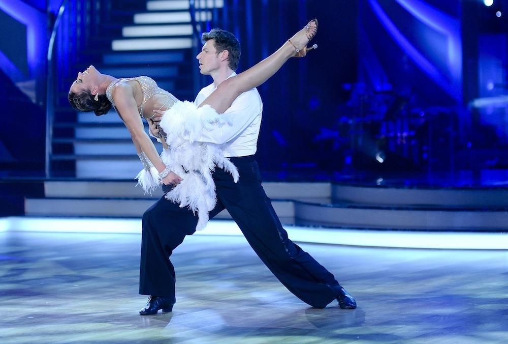 Sedmý večer, Simona a David tančí rumbu