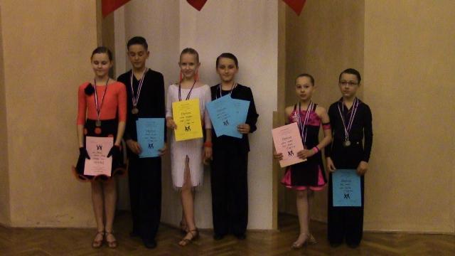 postupová soutěž Nové Strašecí, soutěž Nové Strášecí - Luki + Monča 1. místo.